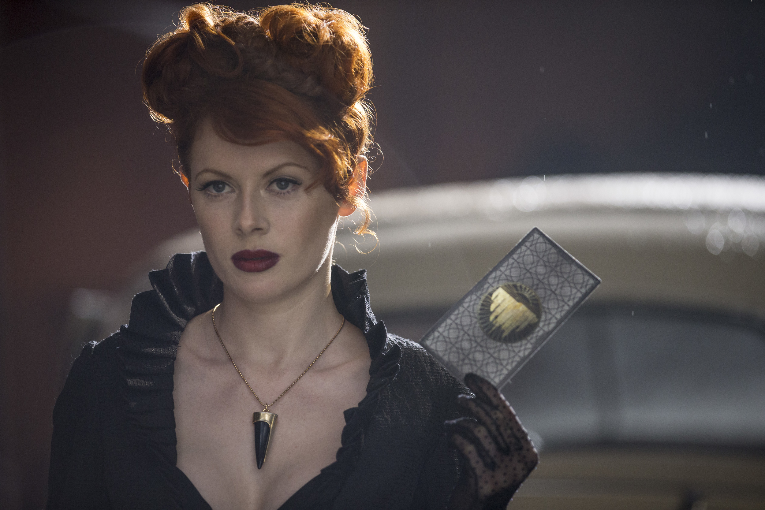 Emily Beecham as The Widow. Credit: James Dimmock/AMC