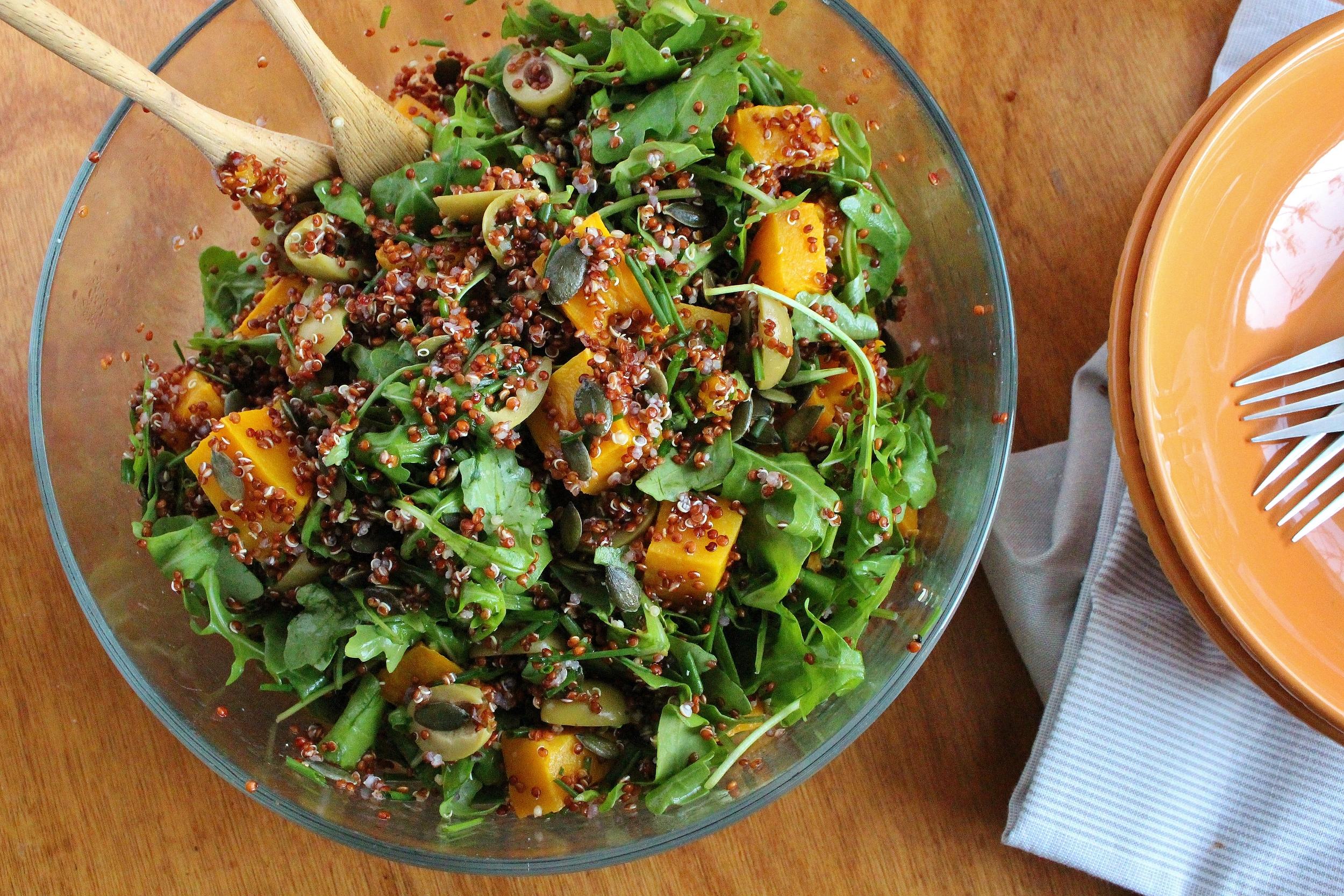 Morrocan Pumpkin Salad