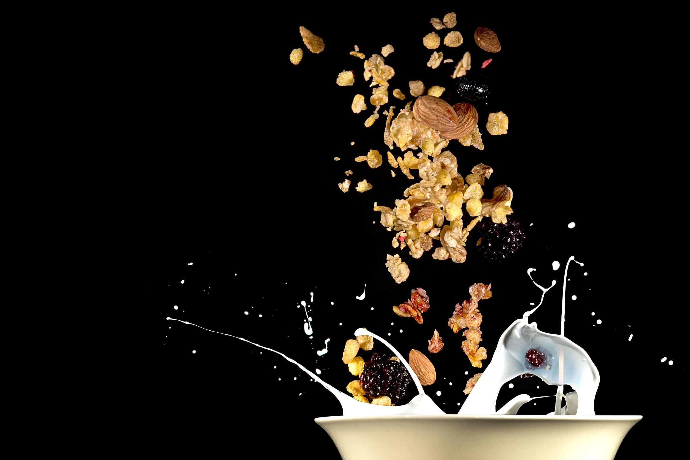 Cereal drop