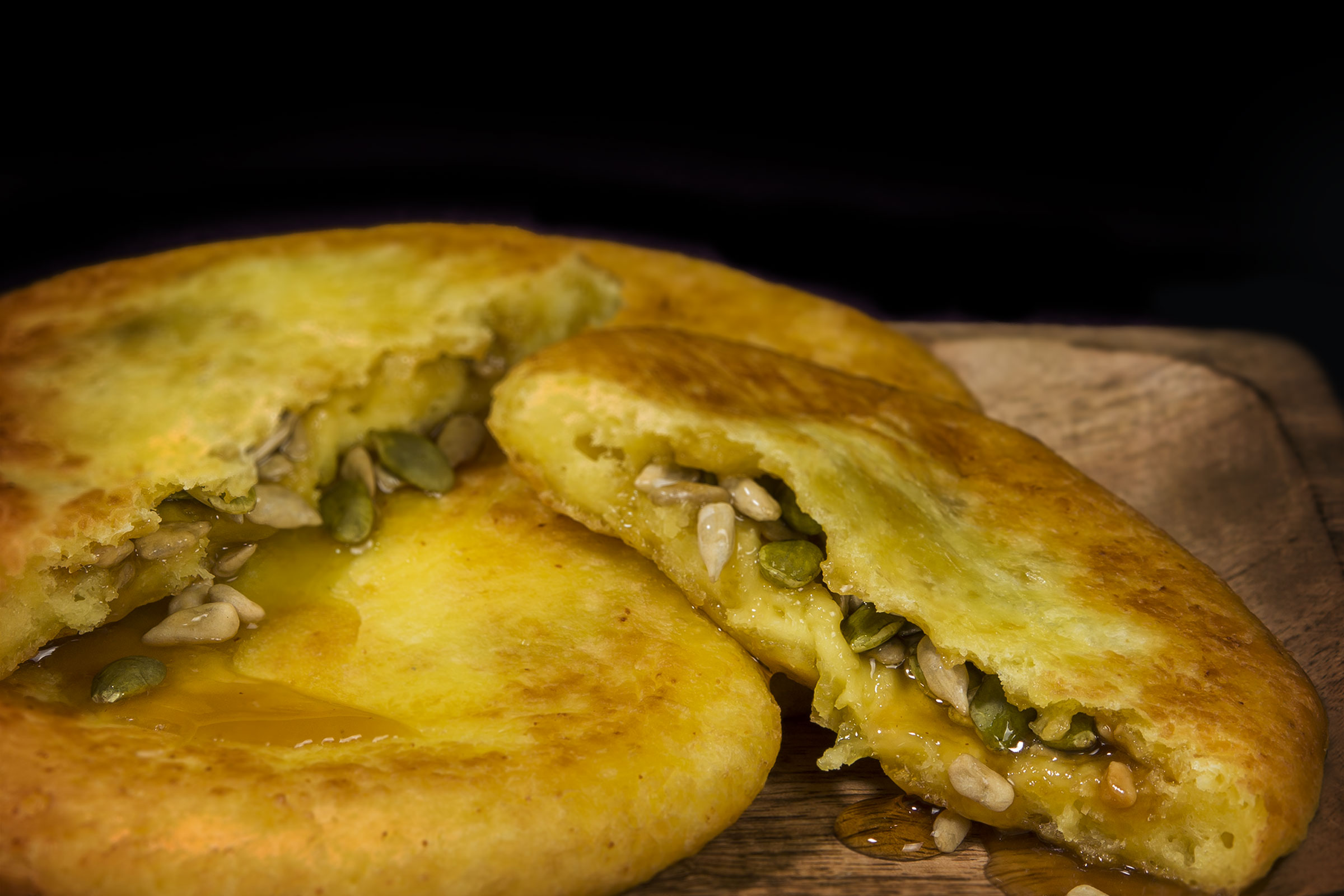 Seed pancake