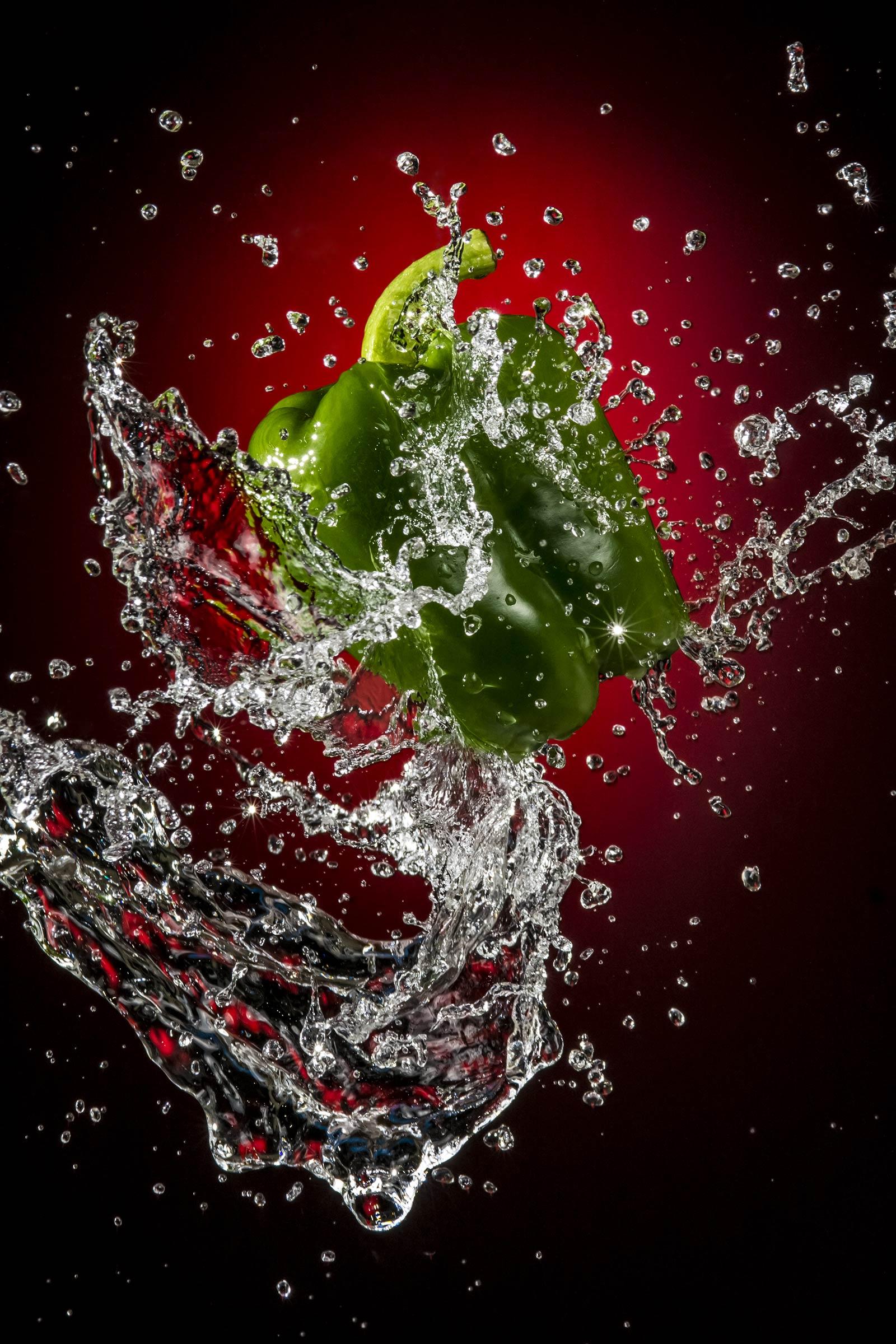 Capsicum splash