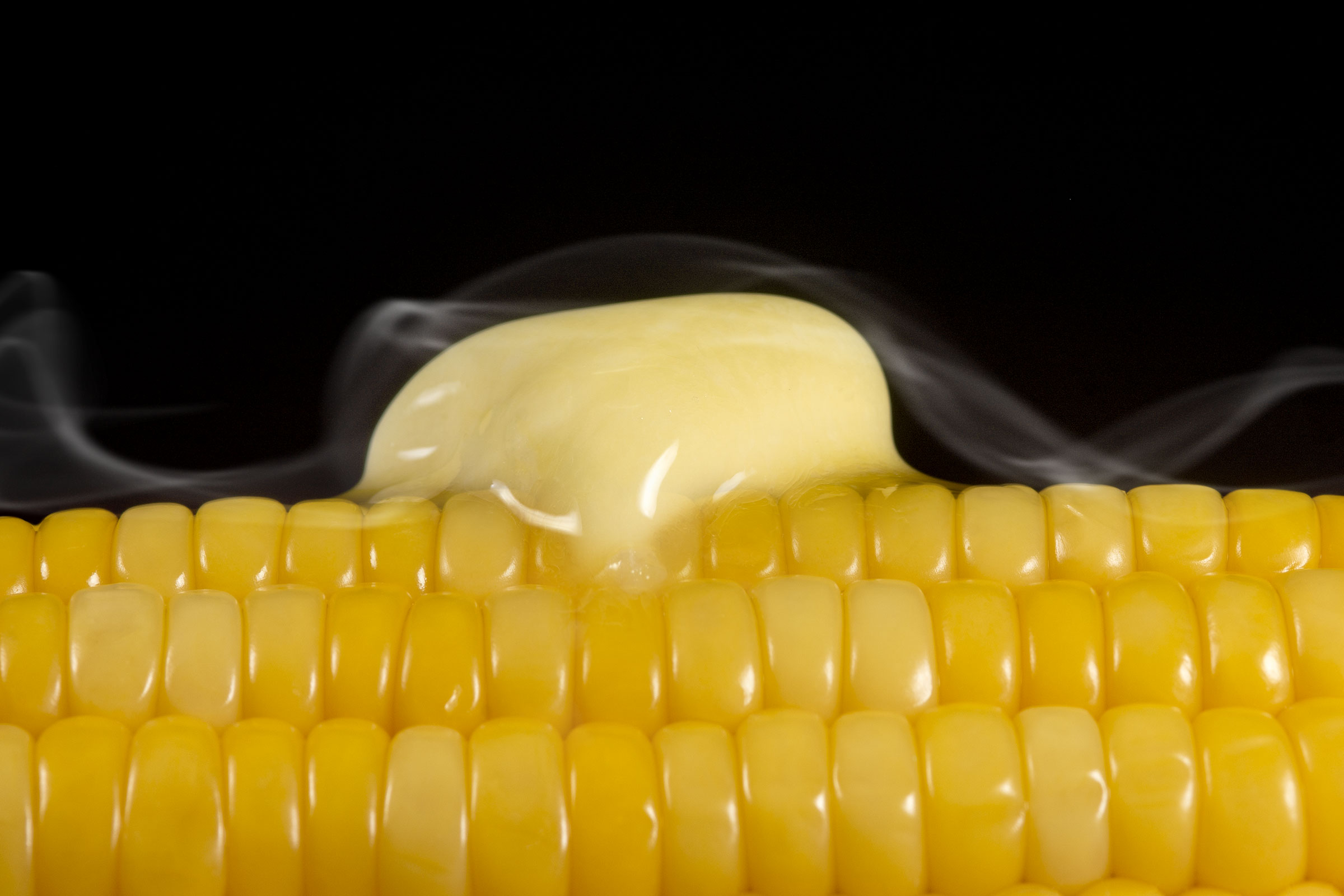 Butter on corn