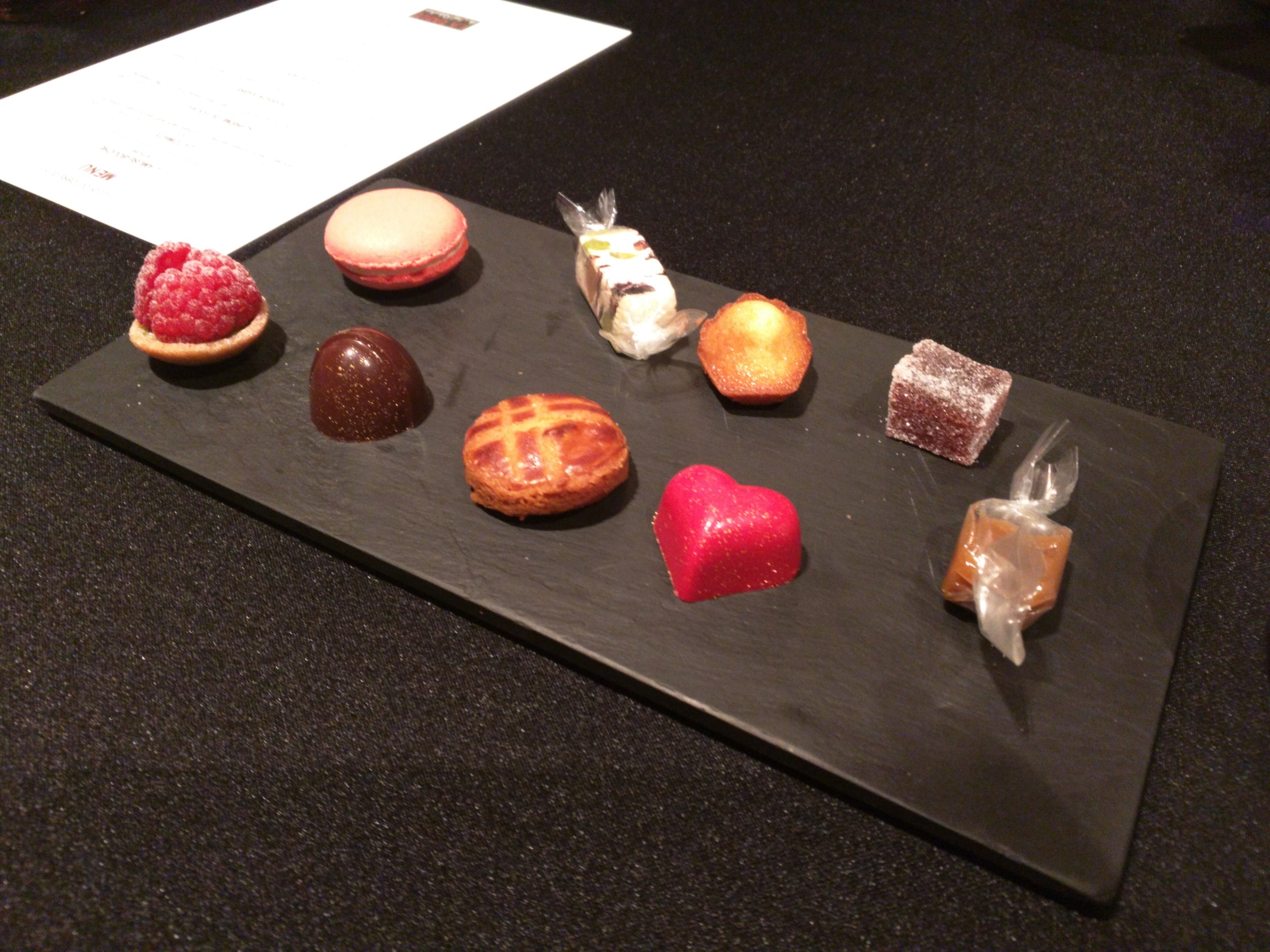 Selection of sweets