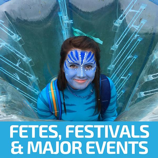 School Fetes, Festivals & Major Events