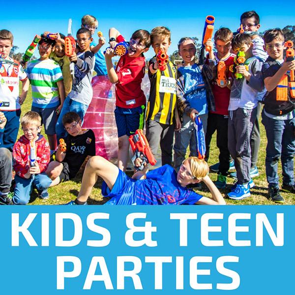 Kids Parties & Teenage Birthdays