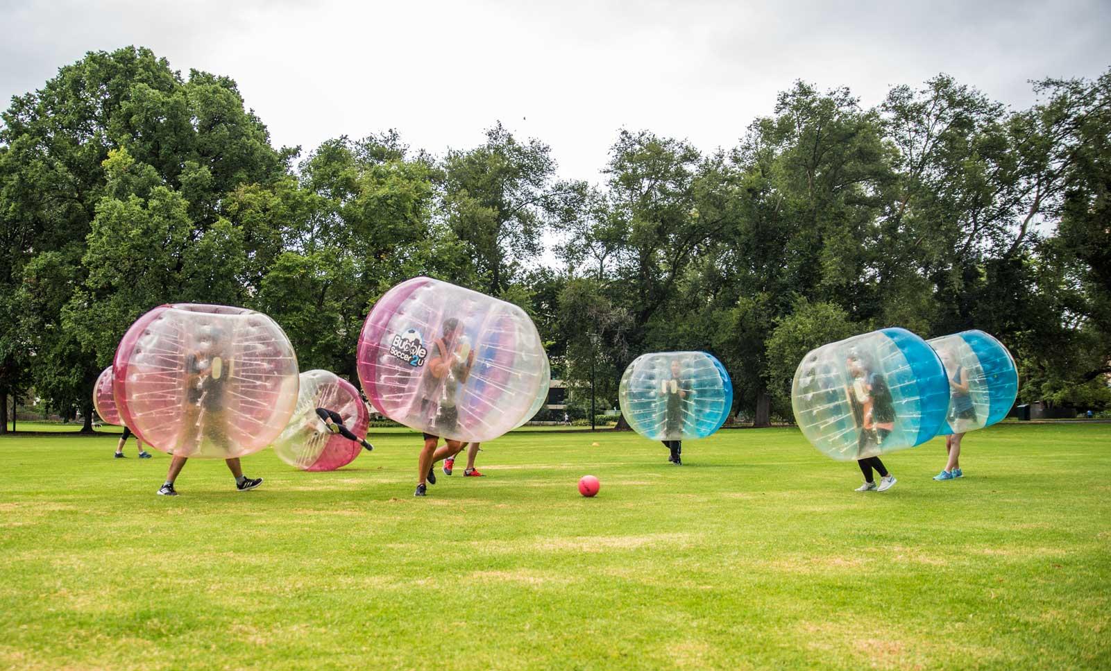 Bubble Soccer Fawkner Park