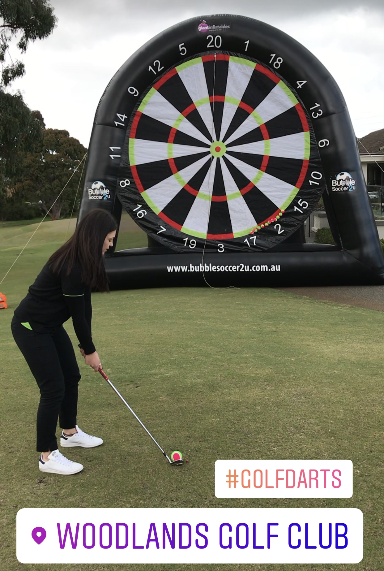Golf Darts was a major hit, with groups having a go before the 1st tee. A few prizes were on offer and over $1,500 was raised on the day!