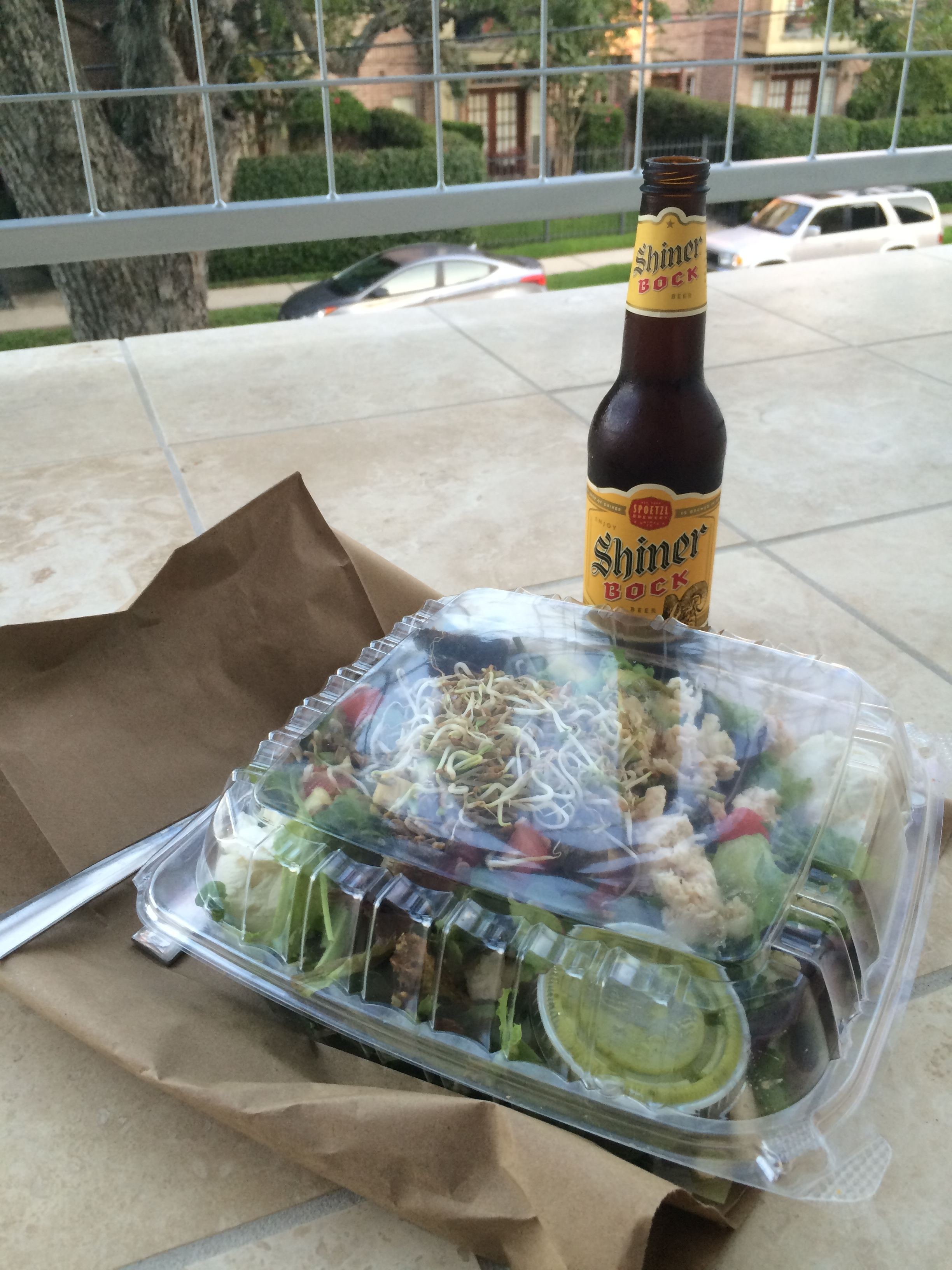 Shiner Bock and Local Foods. Mmmmm Mmmm.