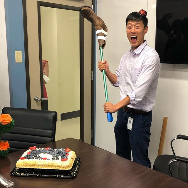 Happy belated birthday to our very own CYLin! Here's to cowboy boots on sticks when piñata sticks won't do the job. 🎉