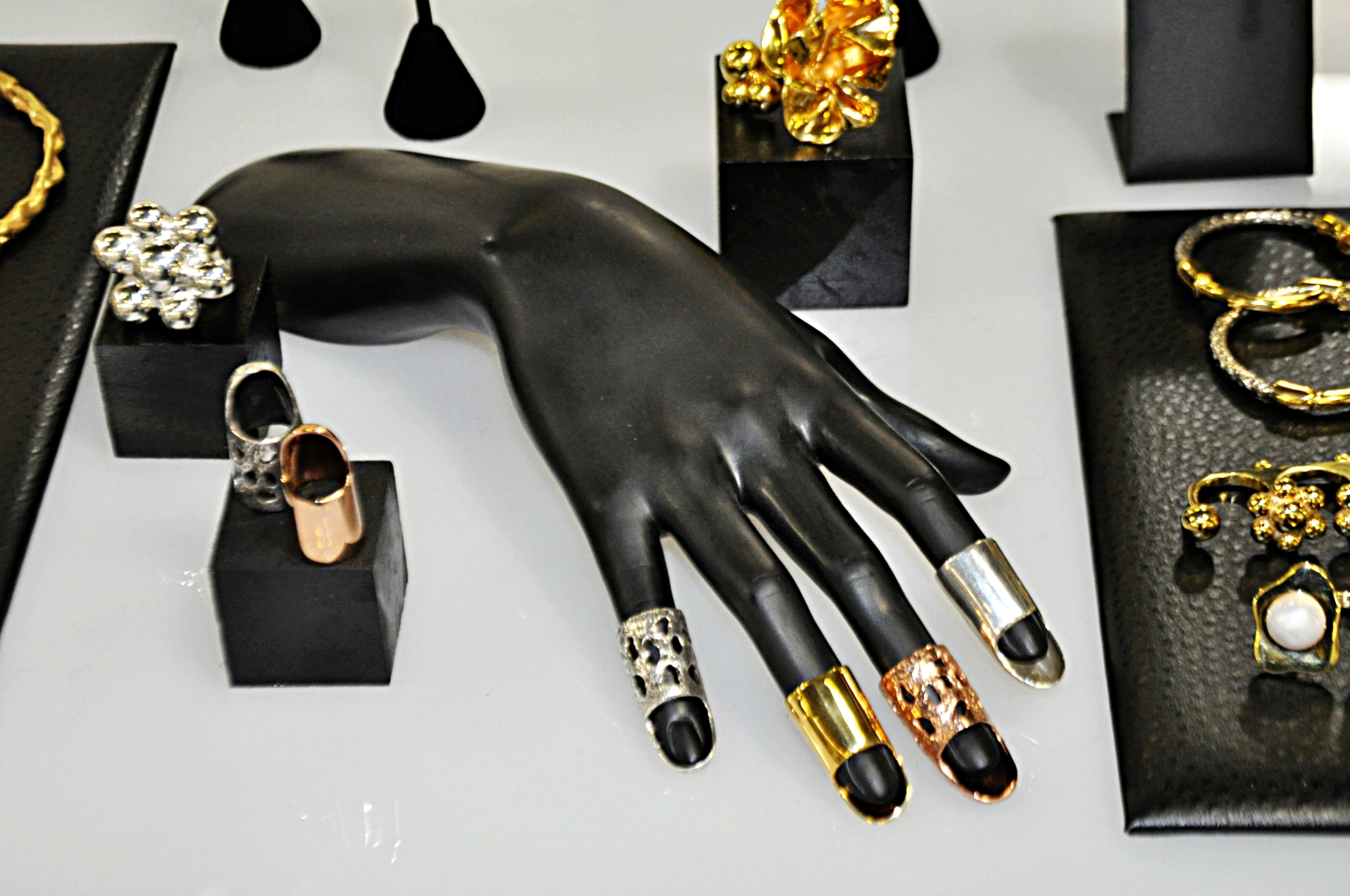 """Nail rings (""""Silver King"""" @ Capsule show)"""