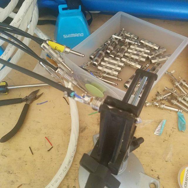 Building looms. #mixroombuild #studio