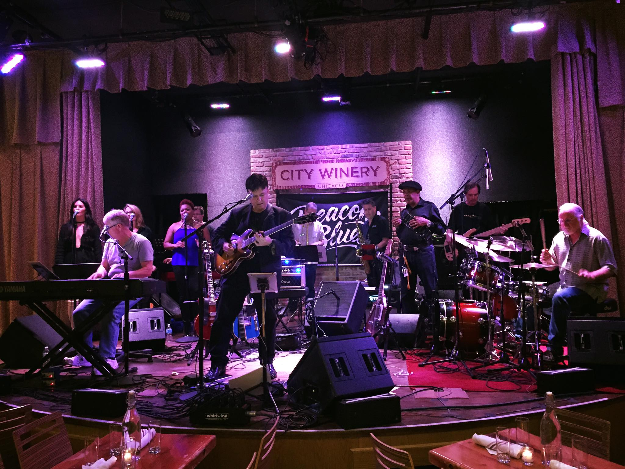 FOH for Deacon Blues at City Winery, Chicago