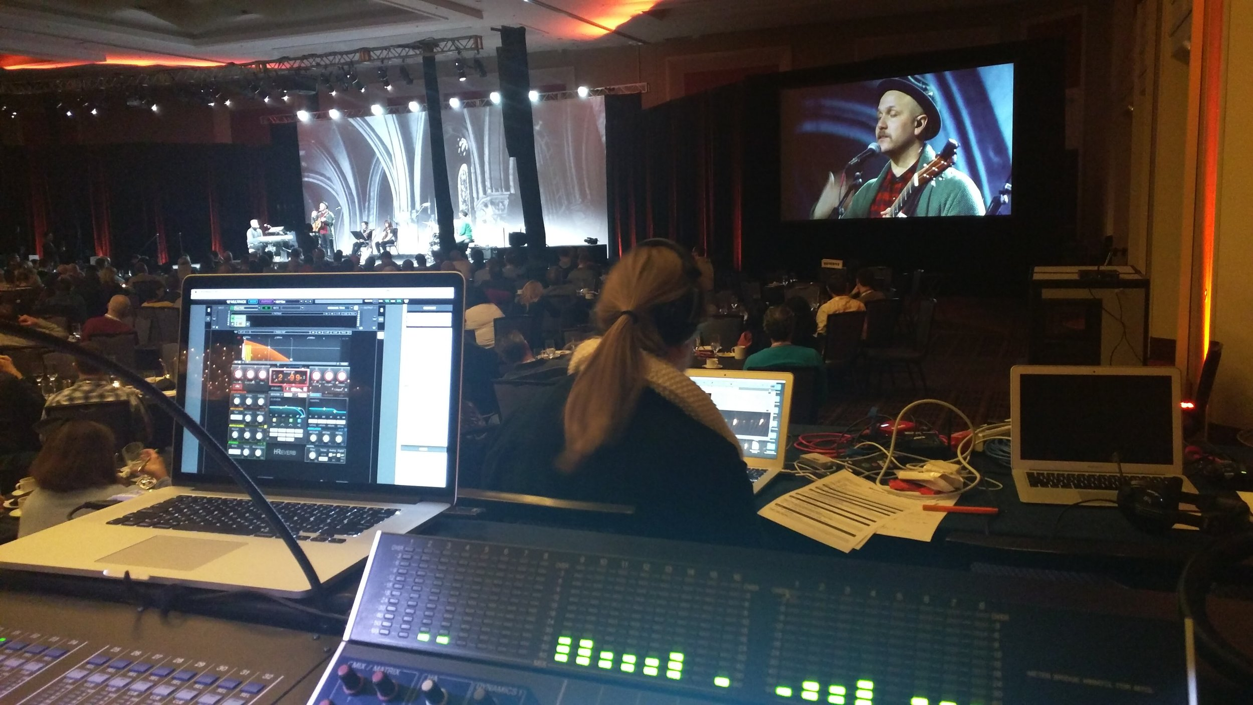 FOH for The Brilliance at Convenant Church Convention Chicago