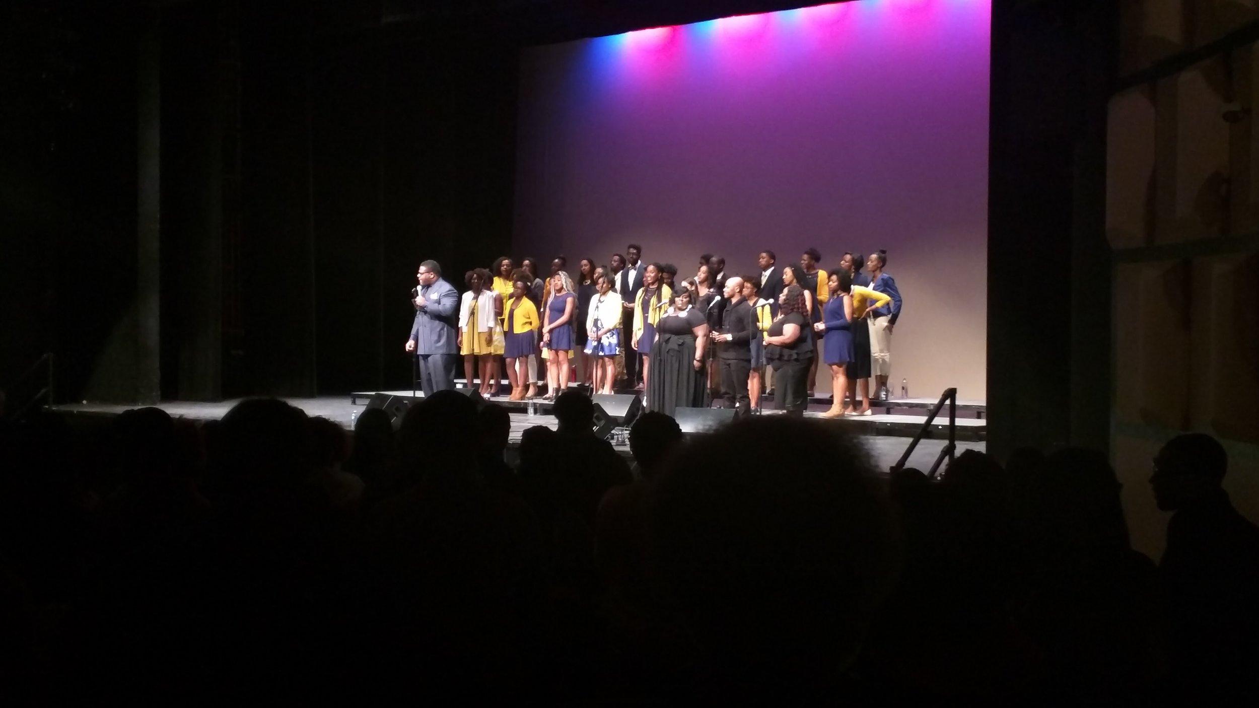 FOH for Northwestrn University's Community Ensemble concert