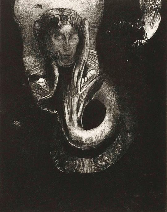Odilon Redon | Public Domain | sourced via publicdomainreview.org
