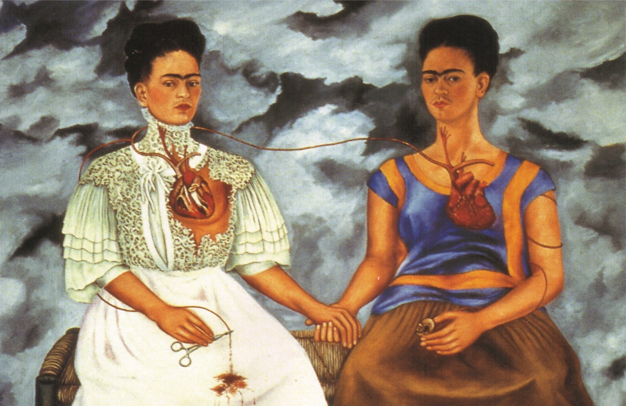 Frida Kahlo | The Two Fridas | 1939 | via WikiArt