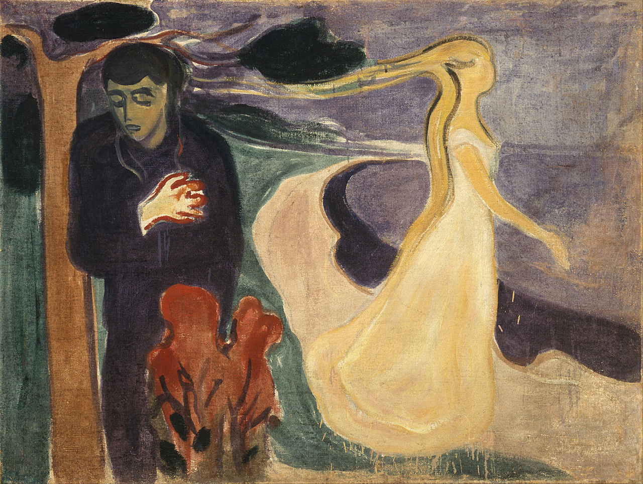 Edvard Munch | Separation | 1896 | Munch Museum, Oslo | via  Google Art Project )