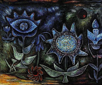 Paul Klee | Blossoms in the Night | 1930 | sourced via paul-klee.org