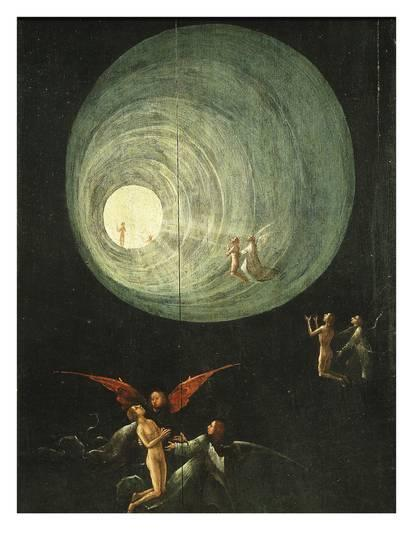 Tunnel of Light (From Paradise) Detail | Hieronymus Bosch