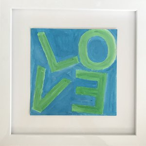 Love Square Green/Blue