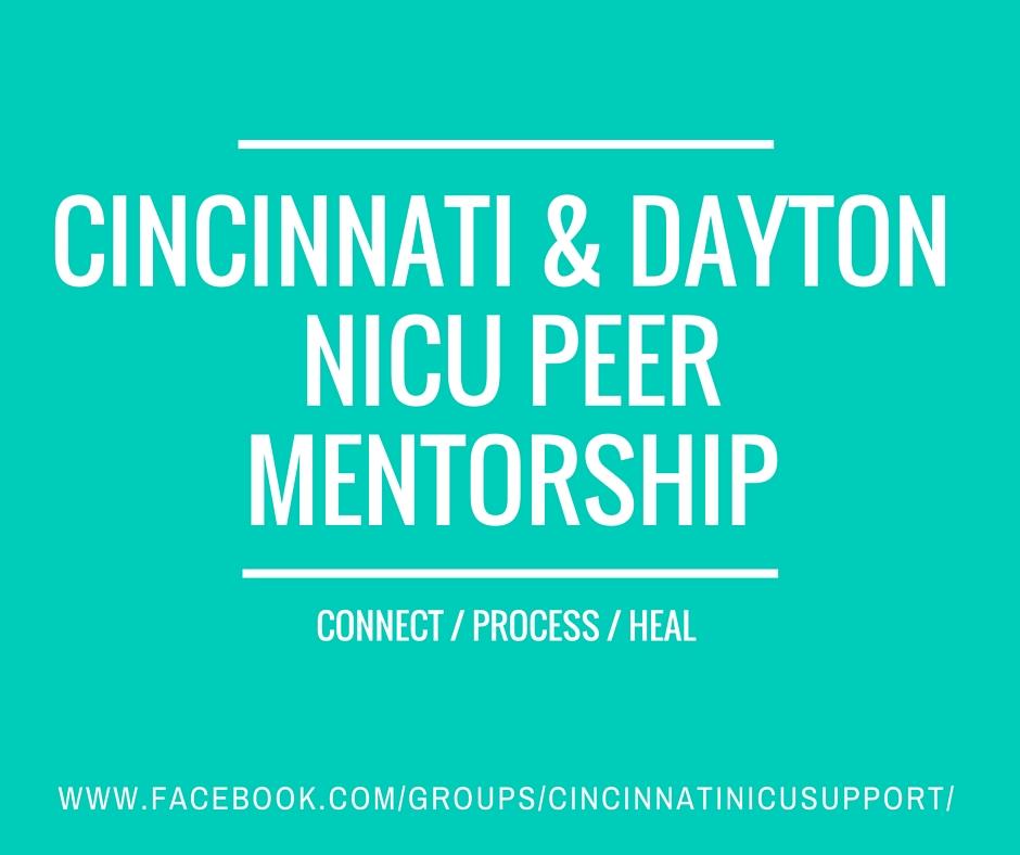 Cincinnati & Dayton NICU Peer Mentorship