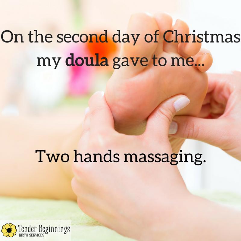 Doula Christmas- Massage
