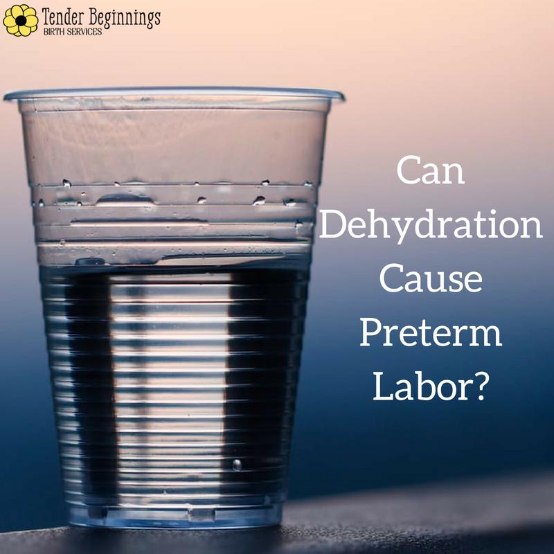 dehydration preterm labor