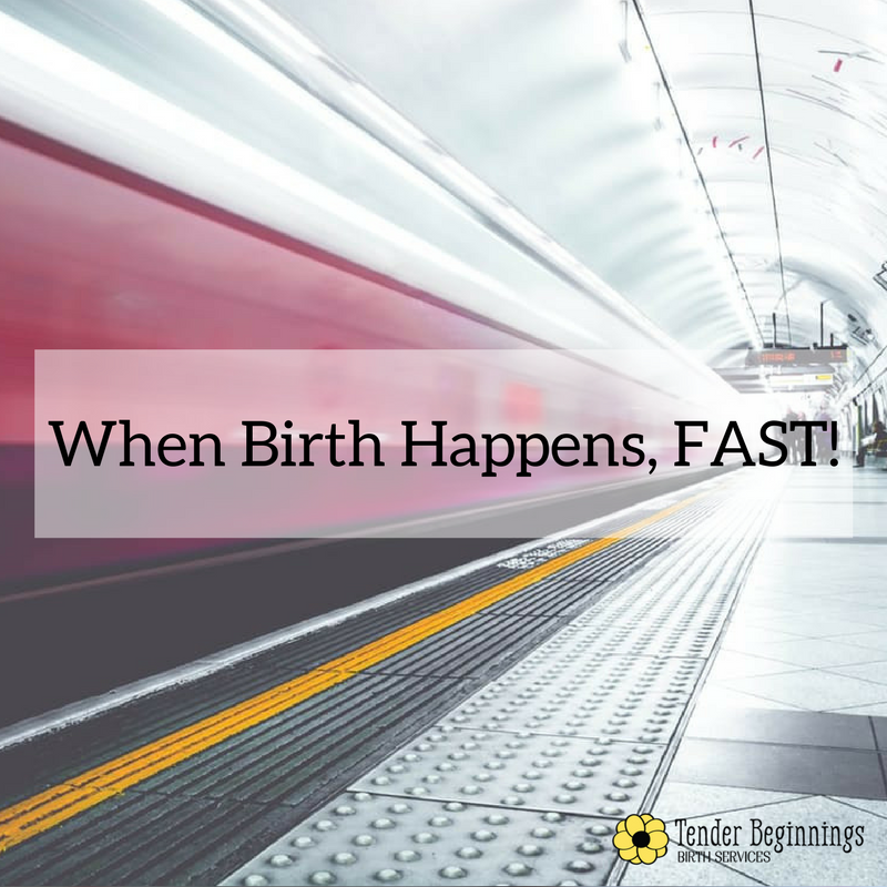 Cincinnati Birth Story When Birth Happens Fast