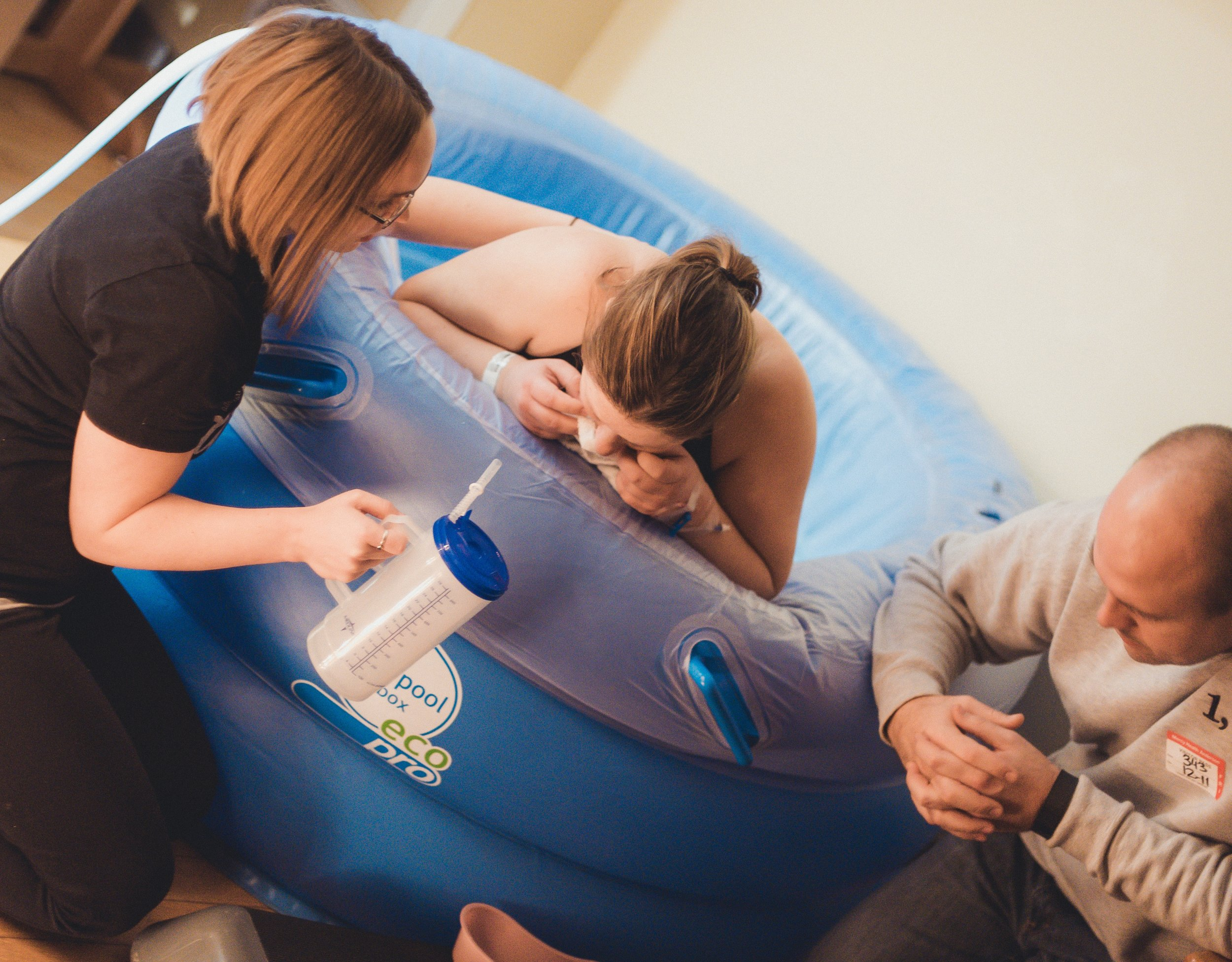 Our doulas have experience supporting labor and birth in the water.
