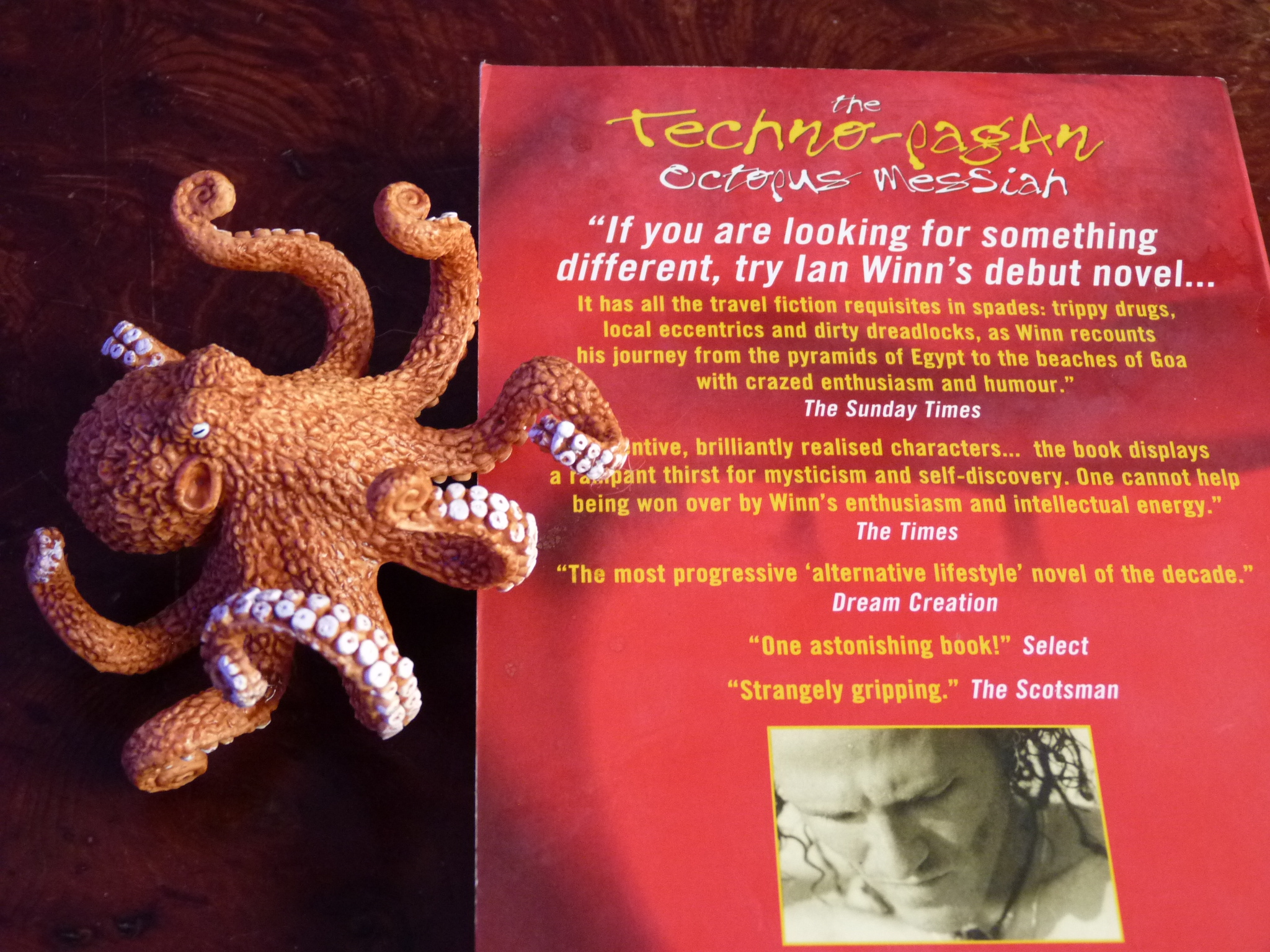But the octopus won many slams, headlined shows and TPOM got some good reviews - (despite it needing loads more work the octopus says now with 20/20 hindsight as he releases the 20th anniversary edition for its second coming in this, the Kaliyuga, the last of four great Hindu ages when