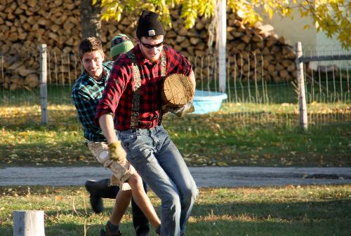 Frontier Lumberjack Party
