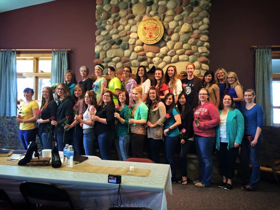 Seniors at the Frontier Ladies Retreat