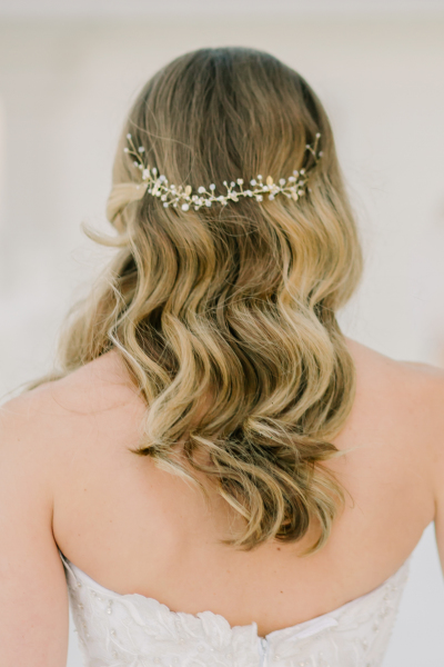 Relaxed Bridal hair