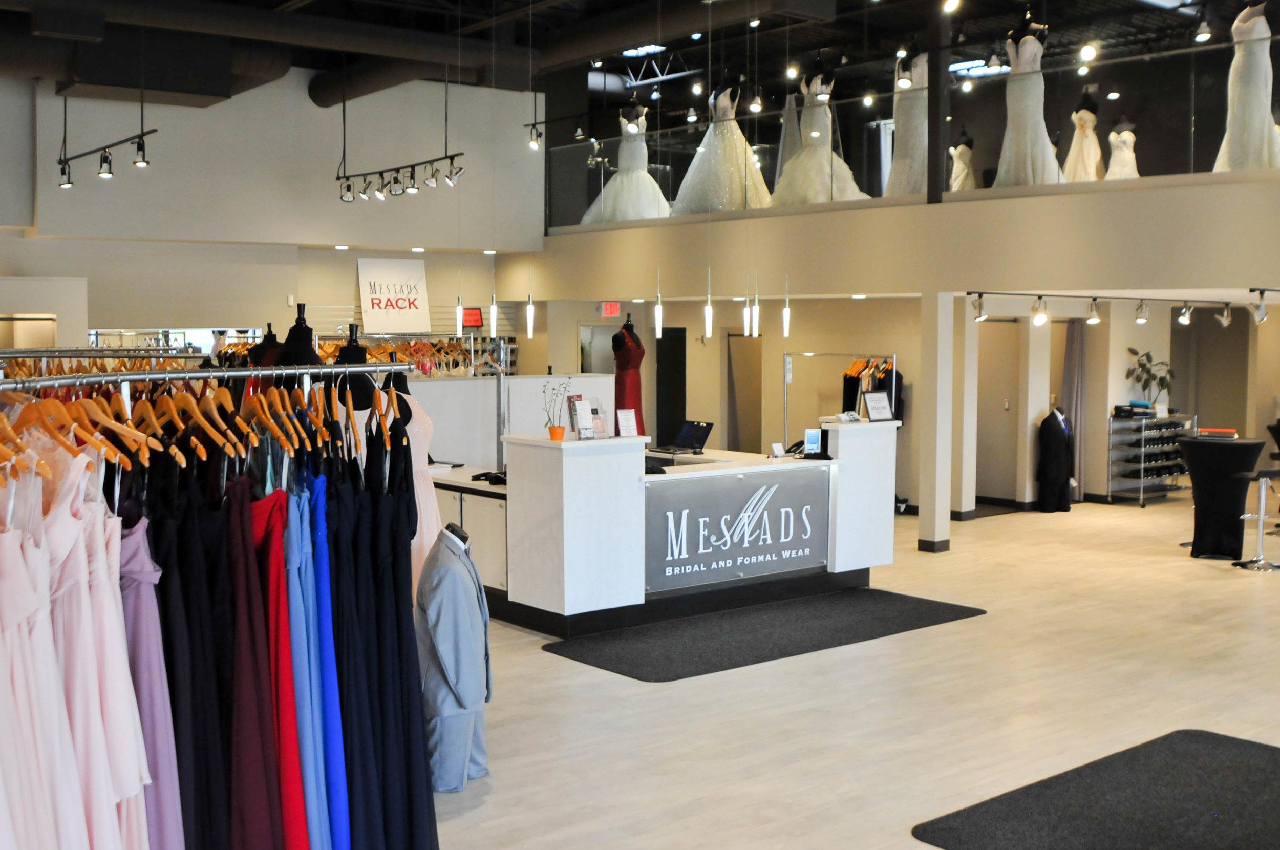 Formal Wear Stores
