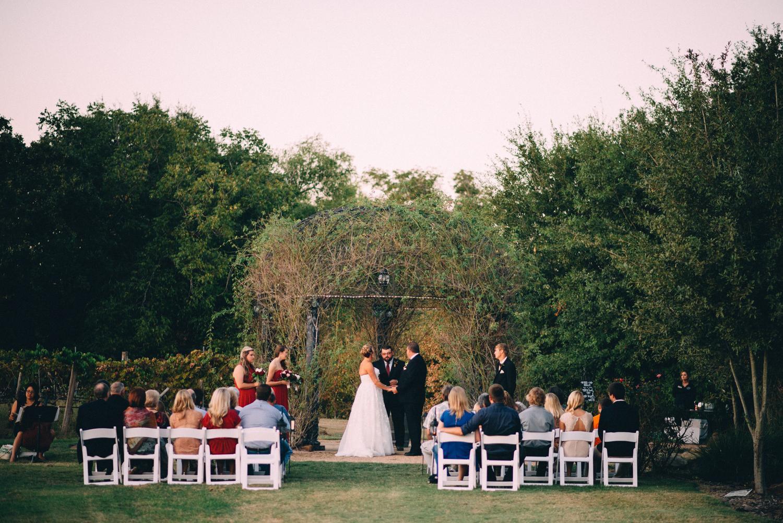 Messina Hof Vineyard Wedding