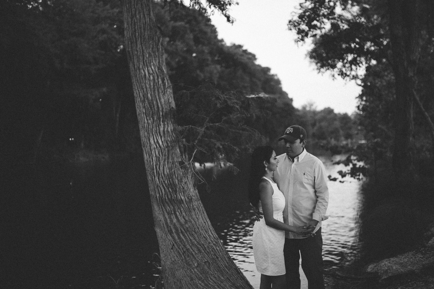 Guadalupe River Engagement Photos