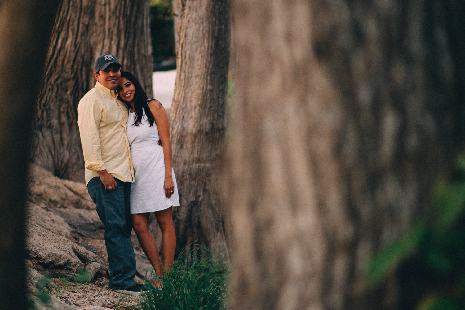 Guadalupe River Engagement Session