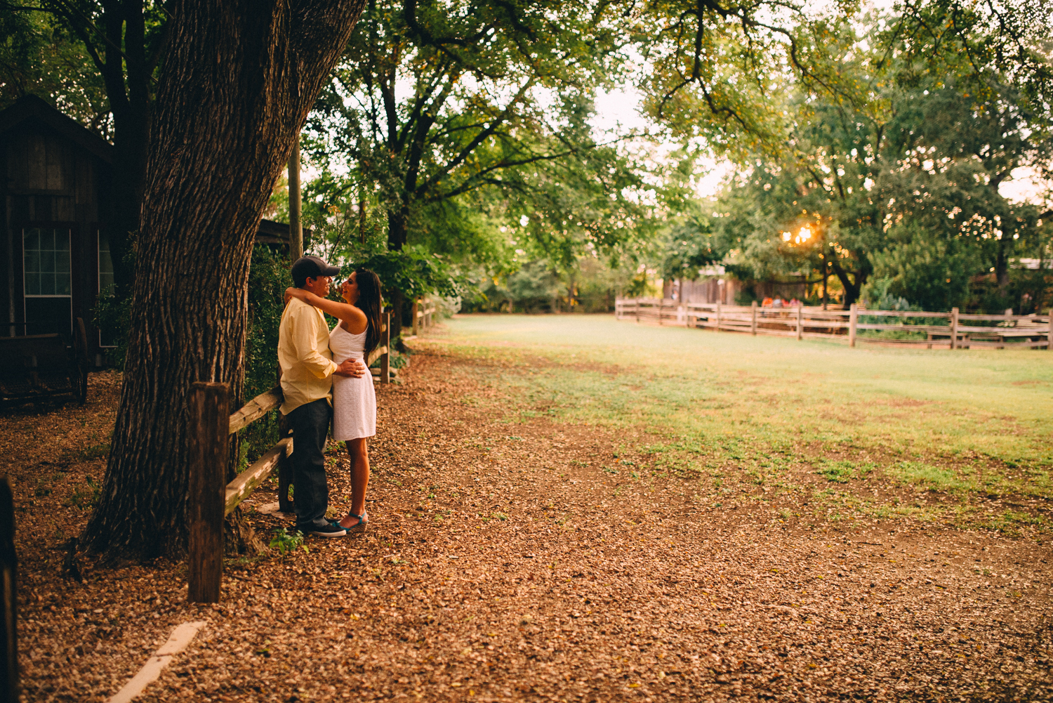 Gruene Engagement Photography
