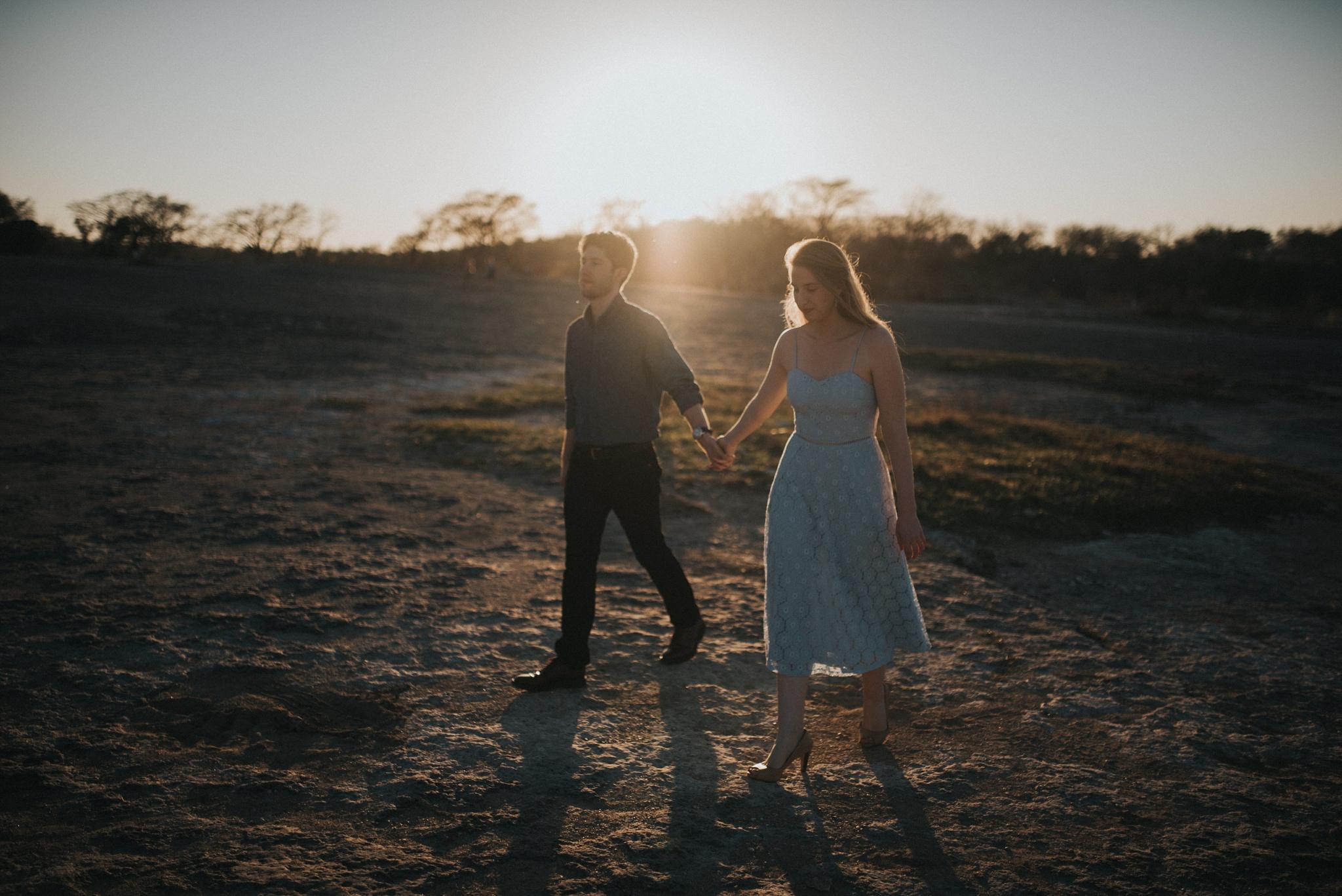 McKinney Falls Engagement
