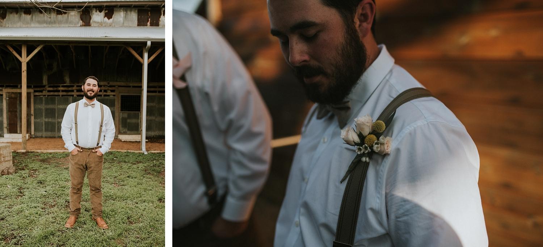 Zedler Mill Wedding Groom Portrait