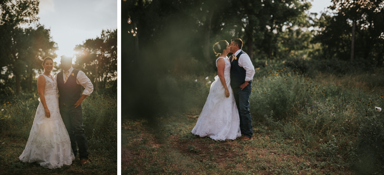 Texas Hill Country Wedding Portraits