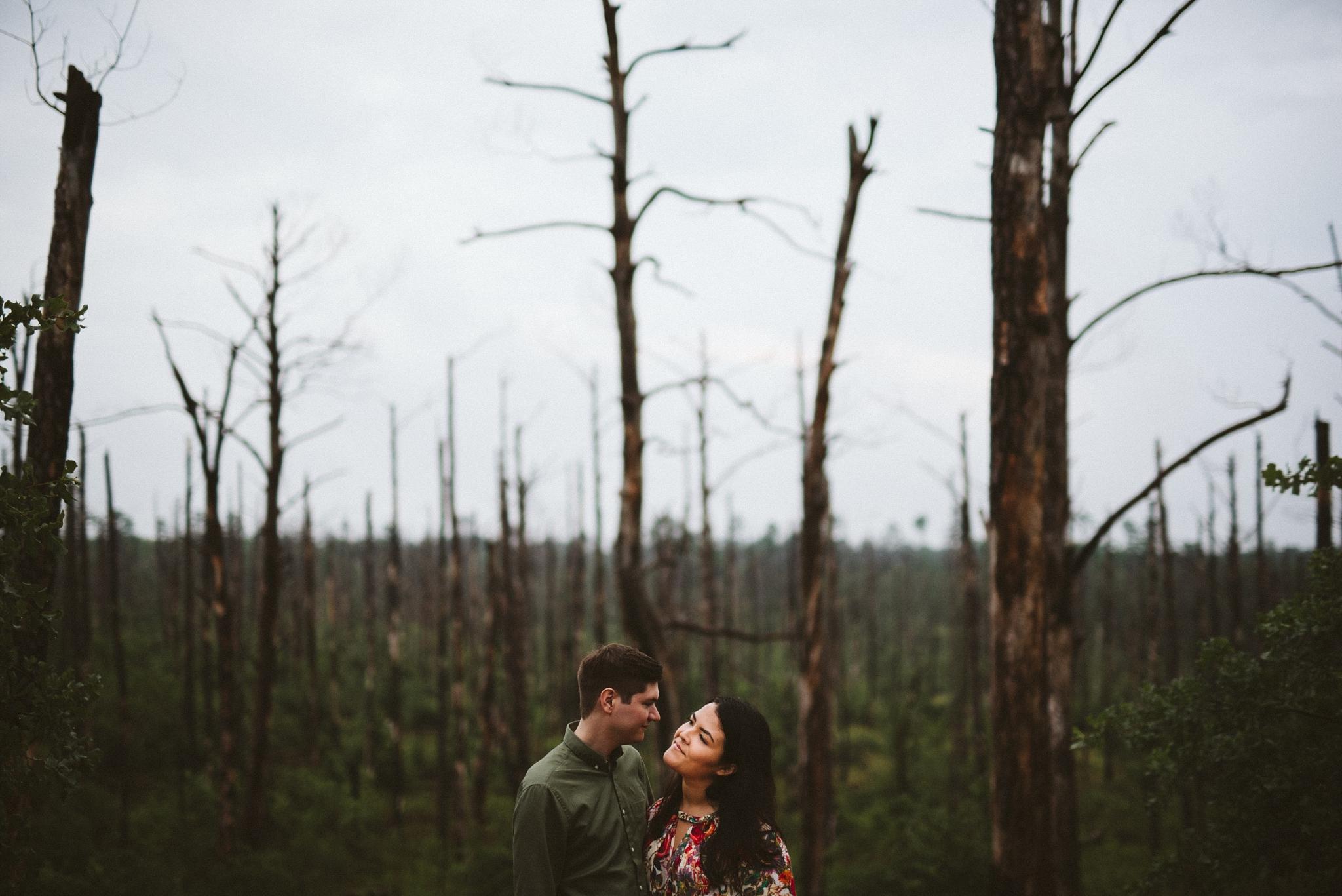 Bastrop State Park Engagement Pictures