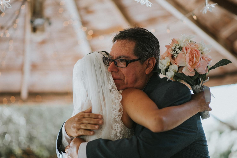 Father and Bride New Braunfels Wedding