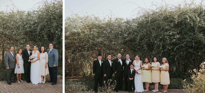 Wedding Family Formals