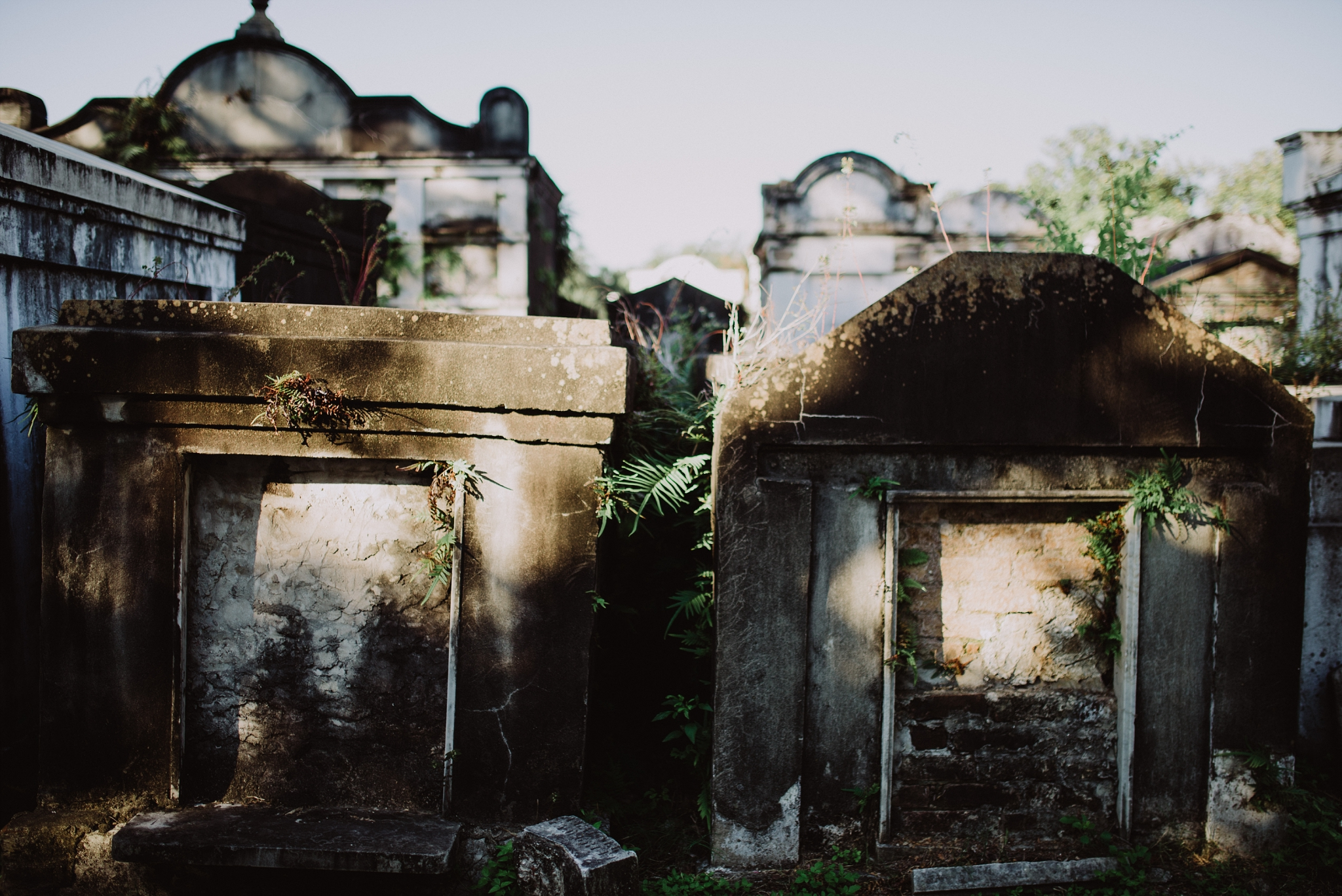 New Orleans Cemetery Tombs