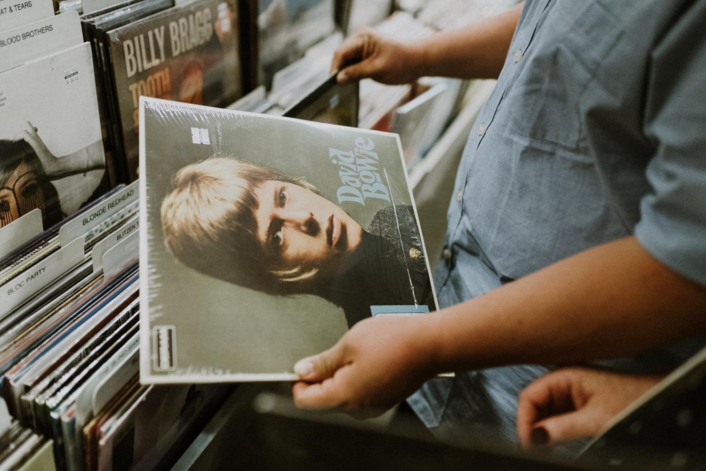 David Bowie Engagement