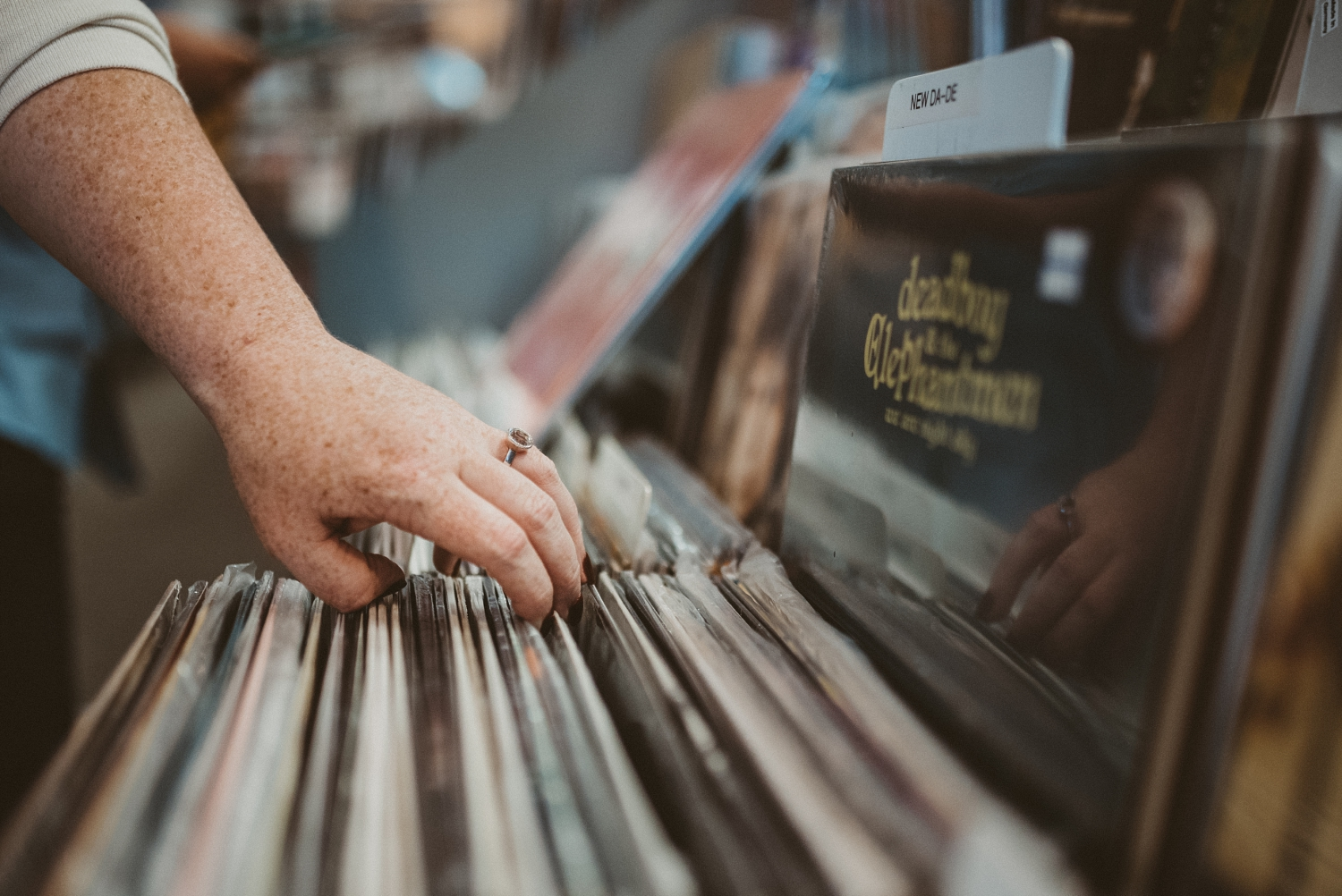Record Store Engagement Session