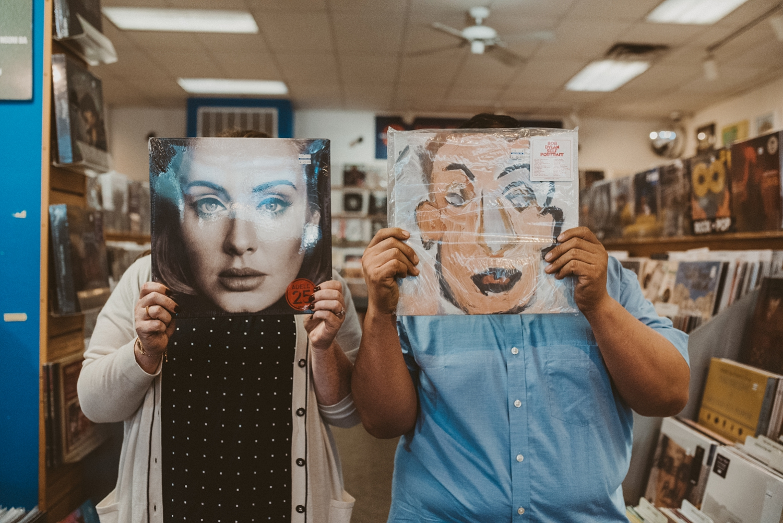 Austin Record Store Engagement