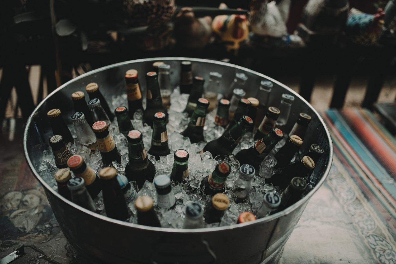 wedding beer tub
