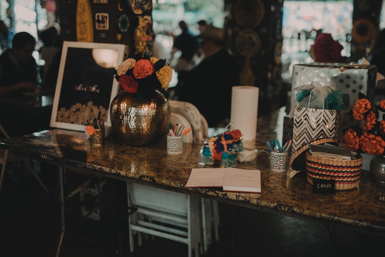 casa rio de colores wedding details